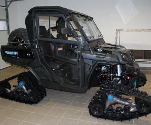 Kabina Journeyman UTV 830